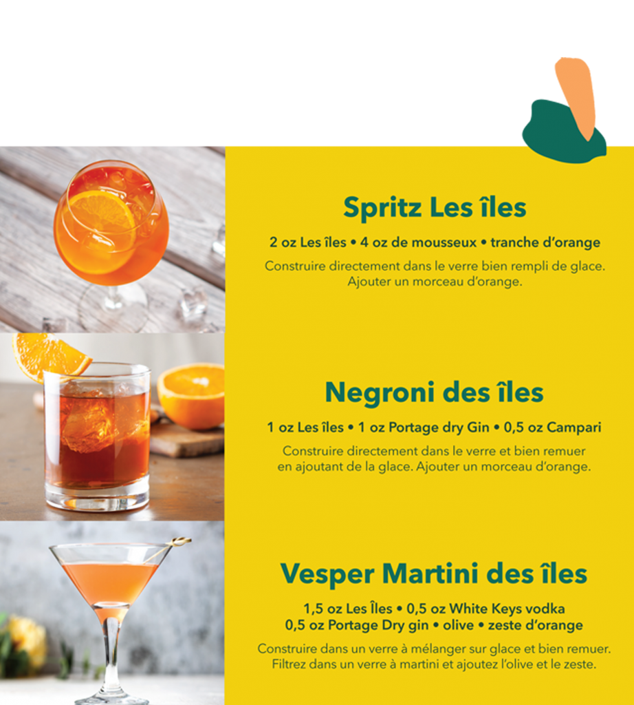 Cocktail Les Îles